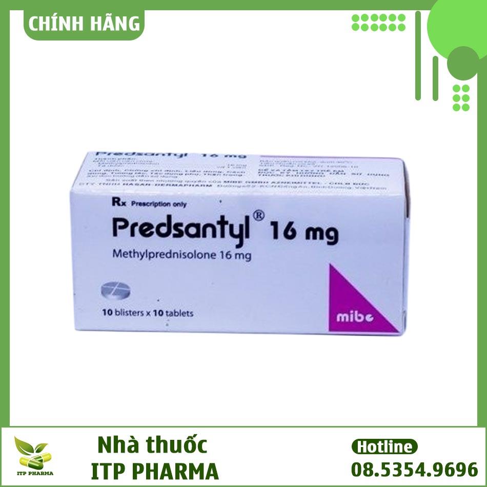 Thuốc Predsantyl 16mg - hộp 10 vỉ