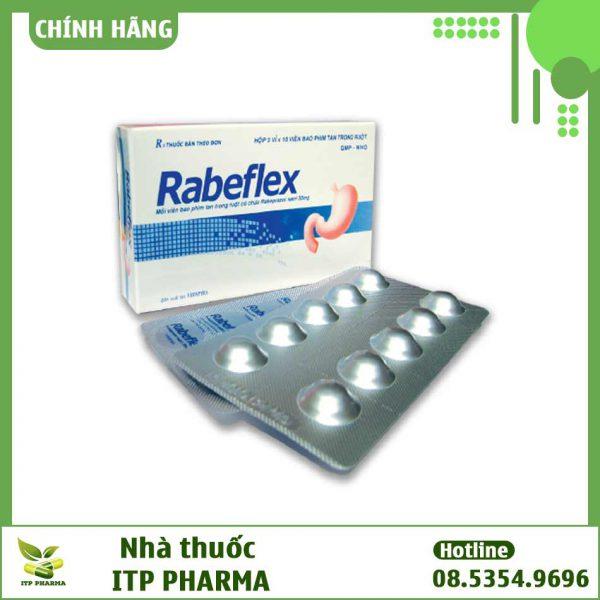 Hình ảnh hộp và vỉ thuốc Rabelfex