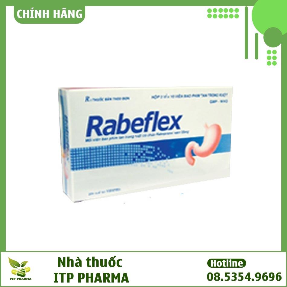 Hình ảnh mặt trước hộp thuốc Rabeflex