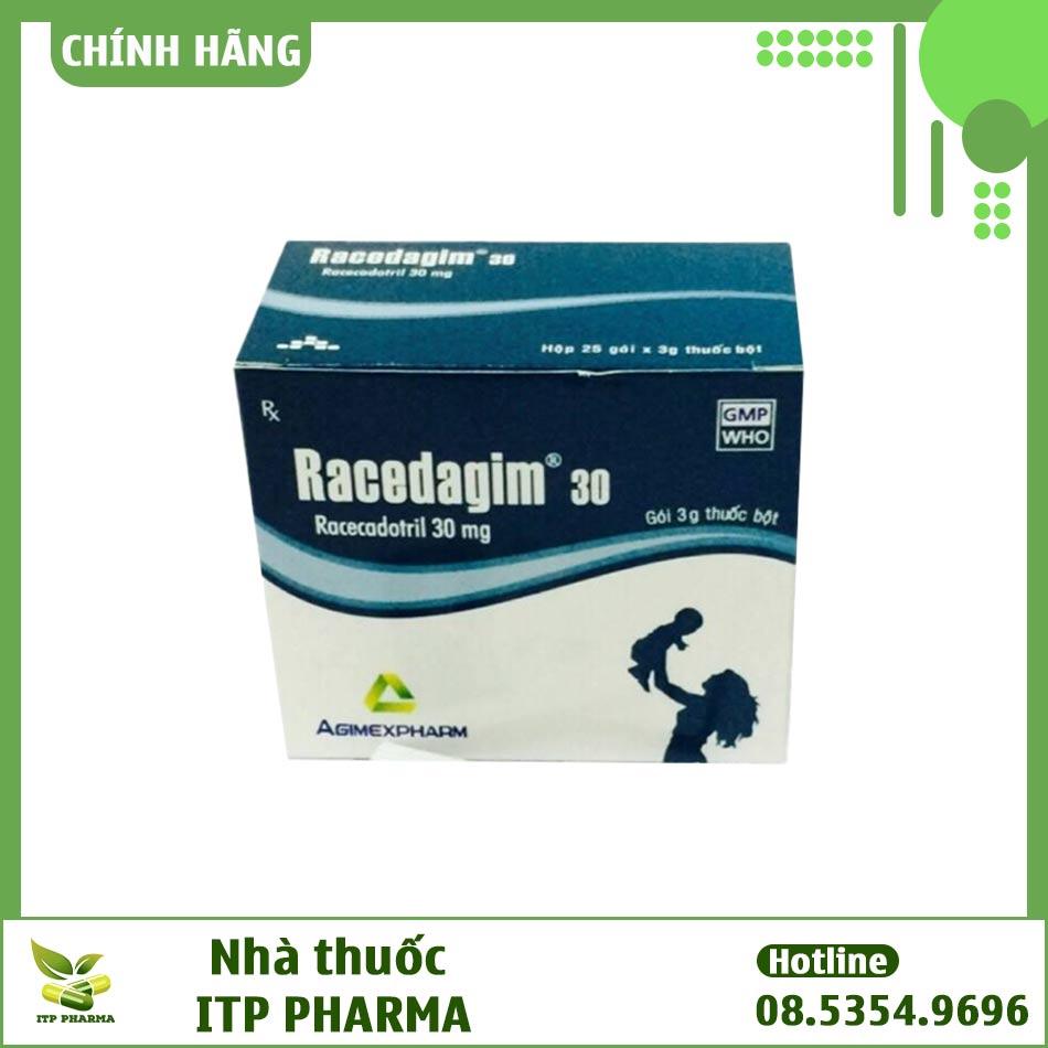 Hình ảnh hộp thuốc Racedagim 30mg