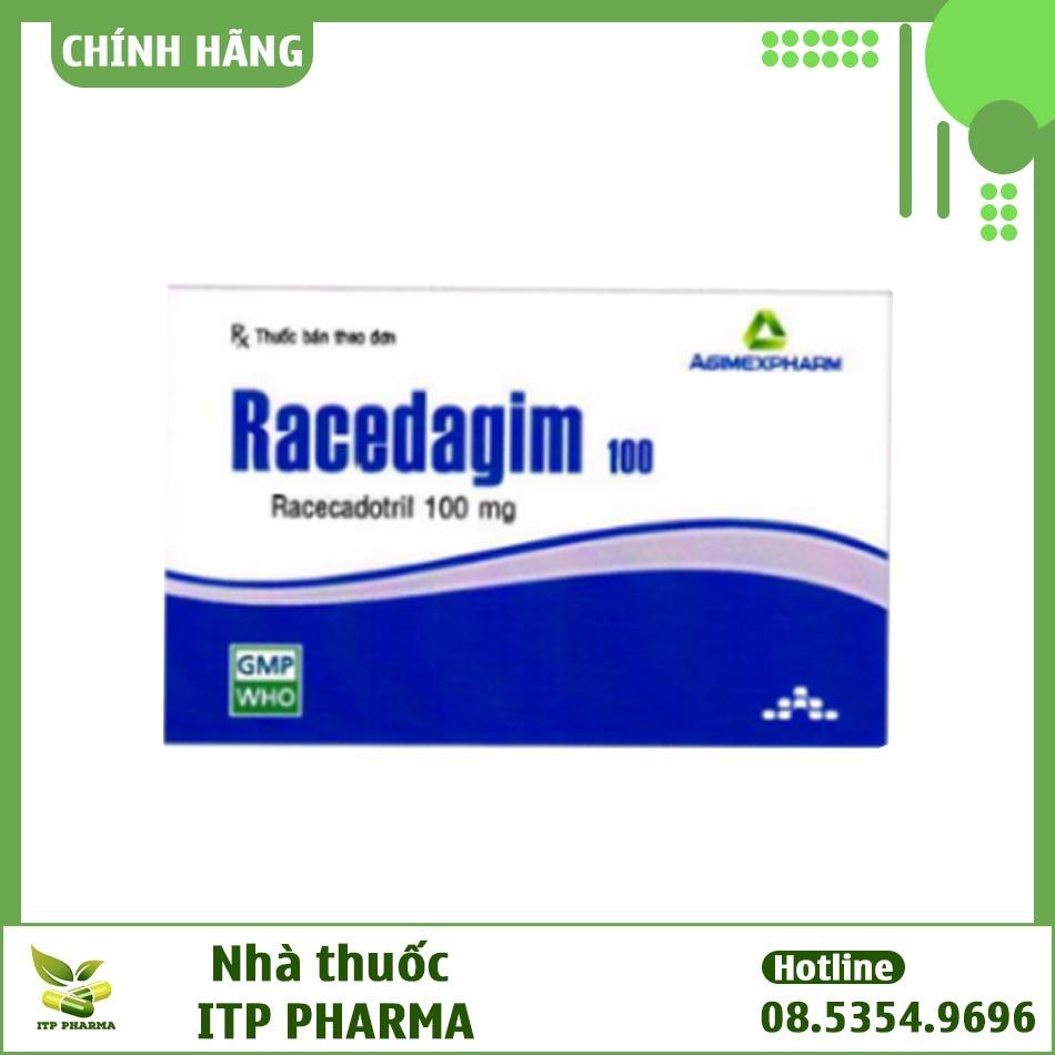 Hình ảnh hộp thuốc Racedagim 100mg