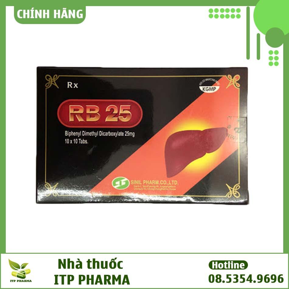 Hình ảnh hộp thuốc Rb 25