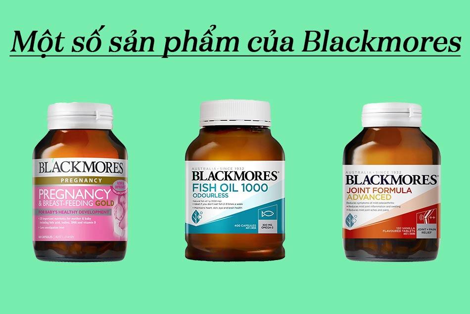 Một số sản phẩm được ưa chuộng của Blackmores