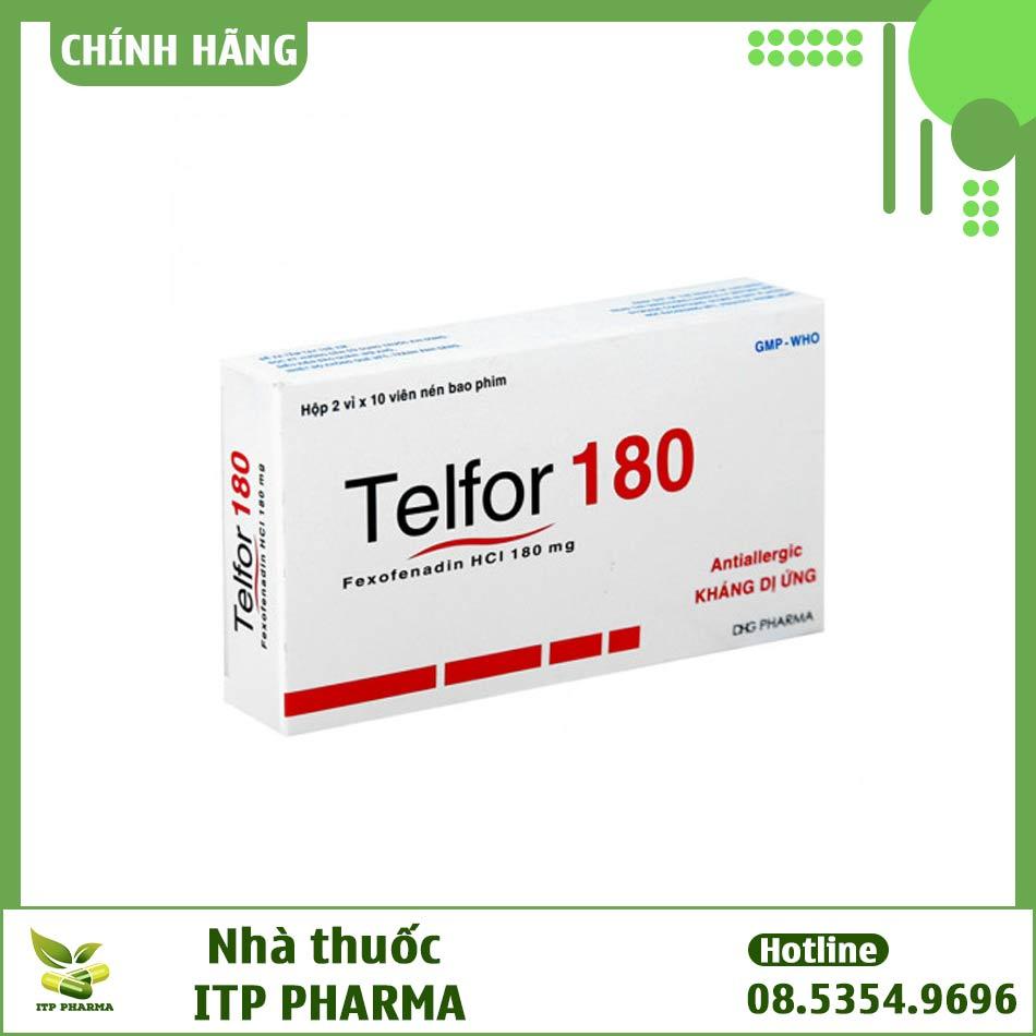 Hình ảnh hộp thuốc Telfor 180