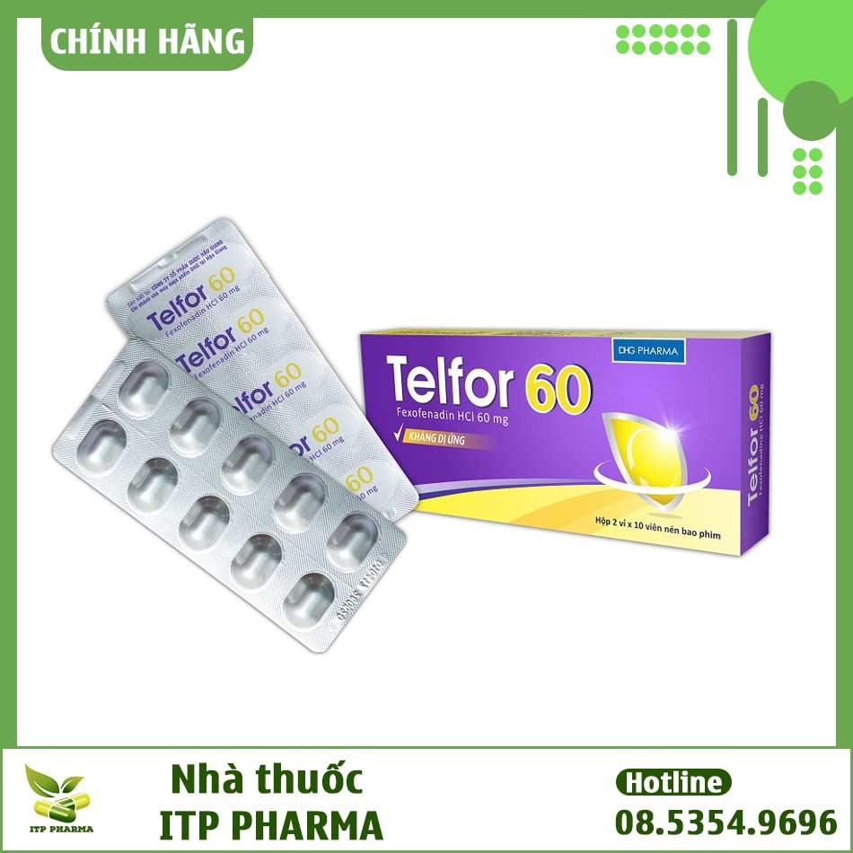 Hình ảnh thuốc Telfor 60