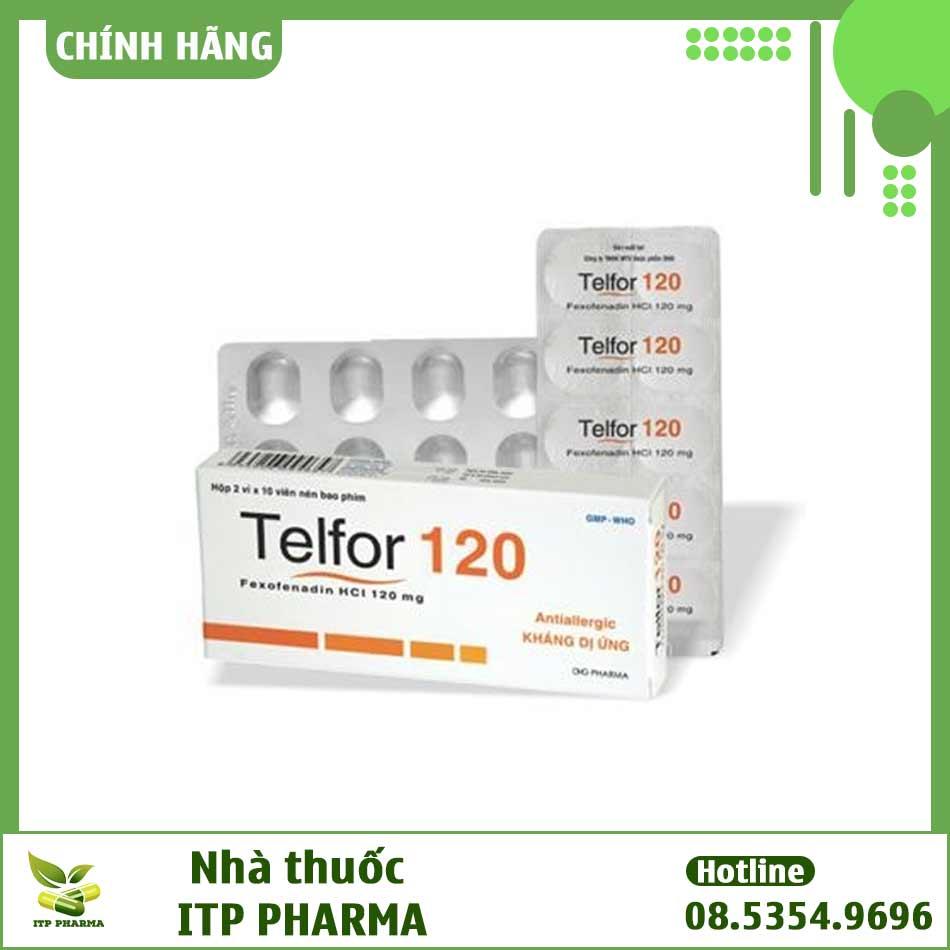 Hình ảnh thuốc Telfor 120