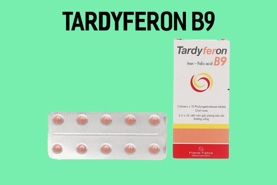 Tardyferon B9 bổ sung sắt vô cơ