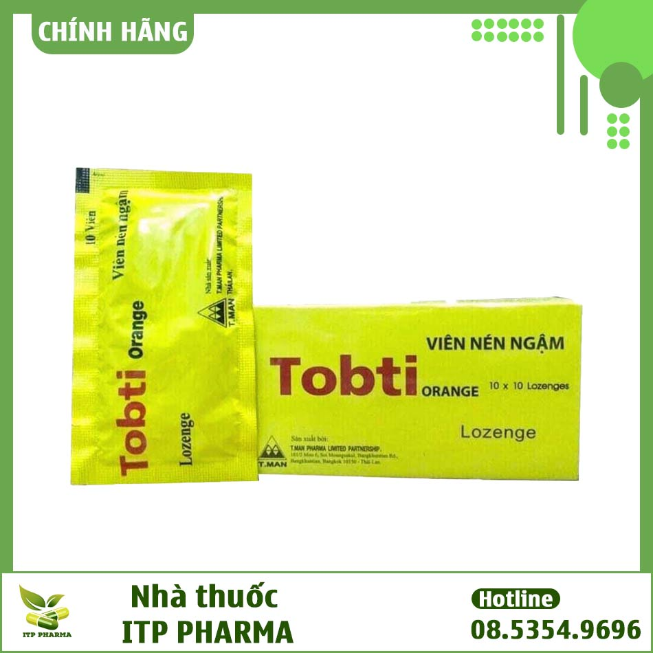 Dạng đóng gói của Tobti Orange
