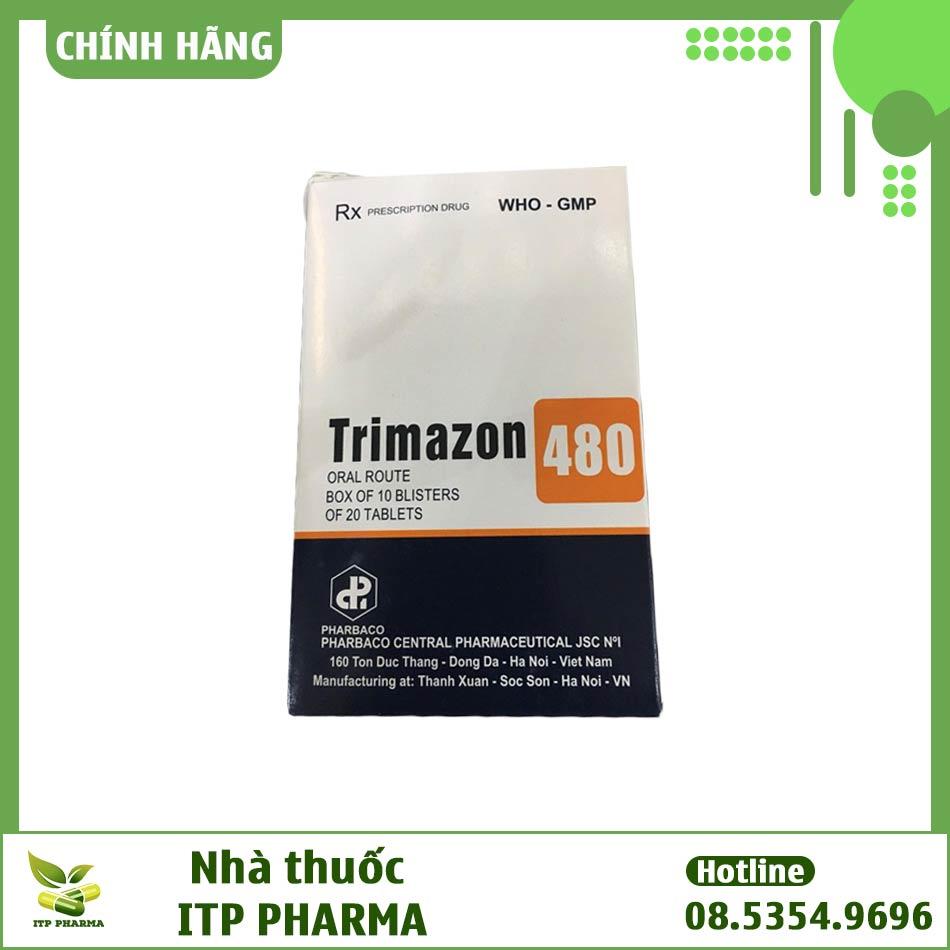 Hình ảnh hộp thuốc Trimazon 480