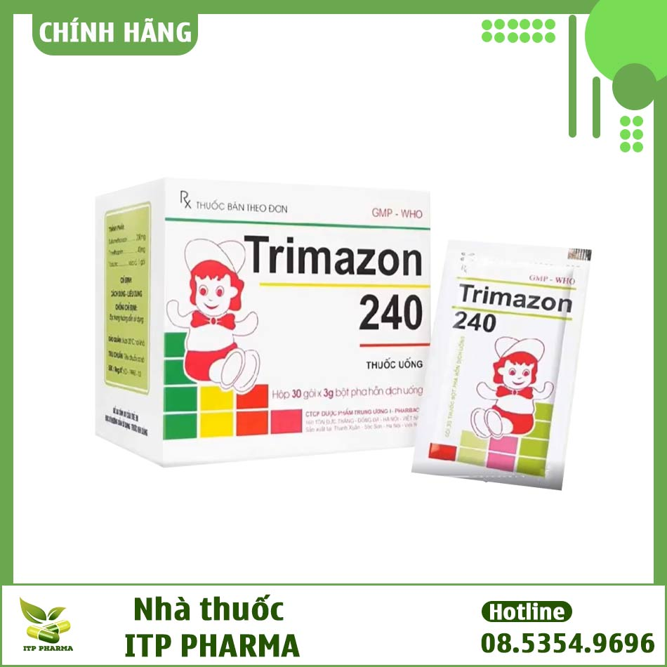 Thuốc cốm Trimazon 240 dành cho trẻ em