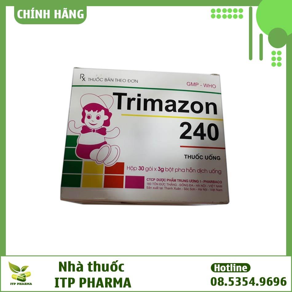 Hộp thuốc Trimazon 240