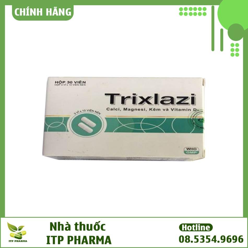 Hình ảnh hộp thuốc Trixlazi