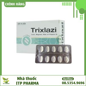 Hình ảnh thuốc Trixlazi
