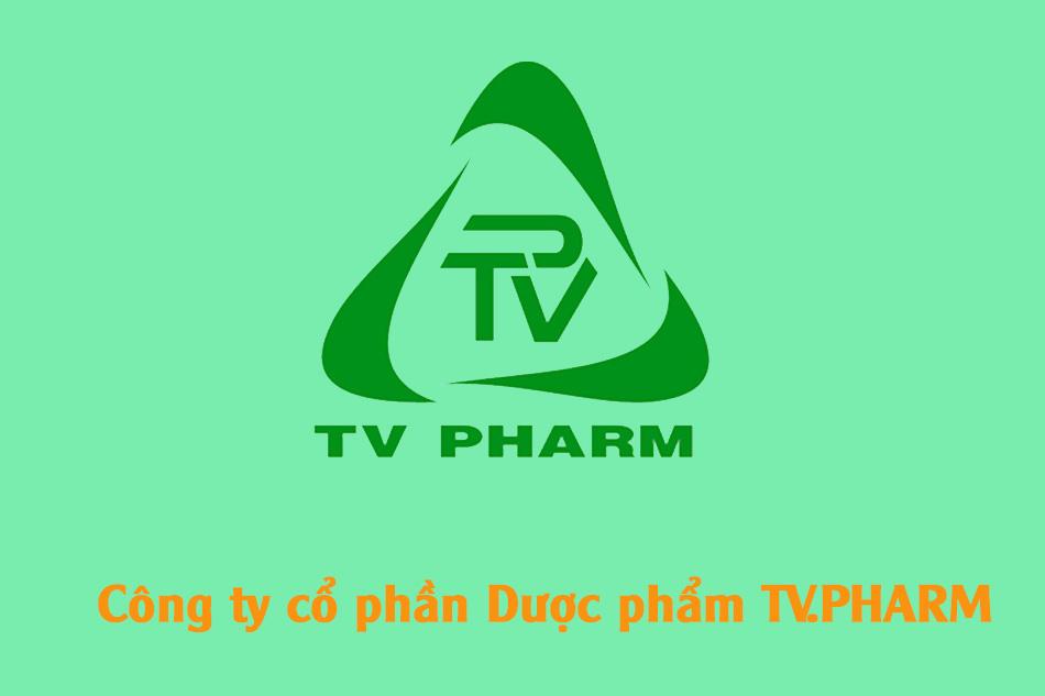 Logo công ty Dược Phẩm TV.Pharm