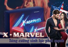 X-Marvel - sản phẩm giúp tăng cường sinh lực phái mạnh