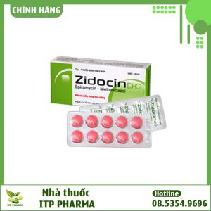 Thuốc kháng sinh Zidocin DHG 125mg