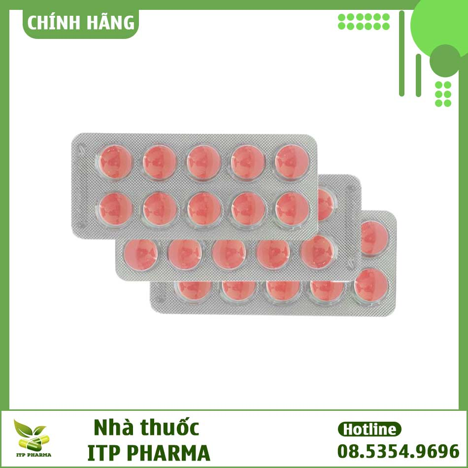 Hình ảnh vỉ thuốc Zidocin DHG