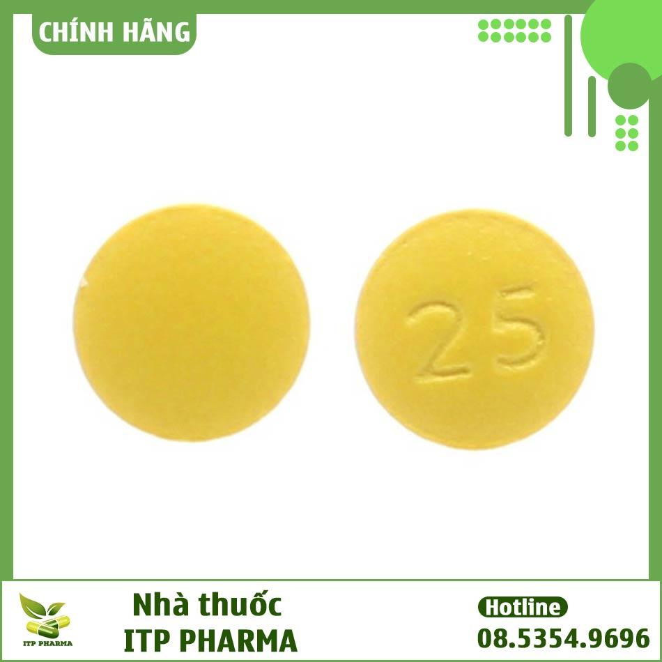 Hình ành viên thuốc Apo-Amitriptylin 25mg