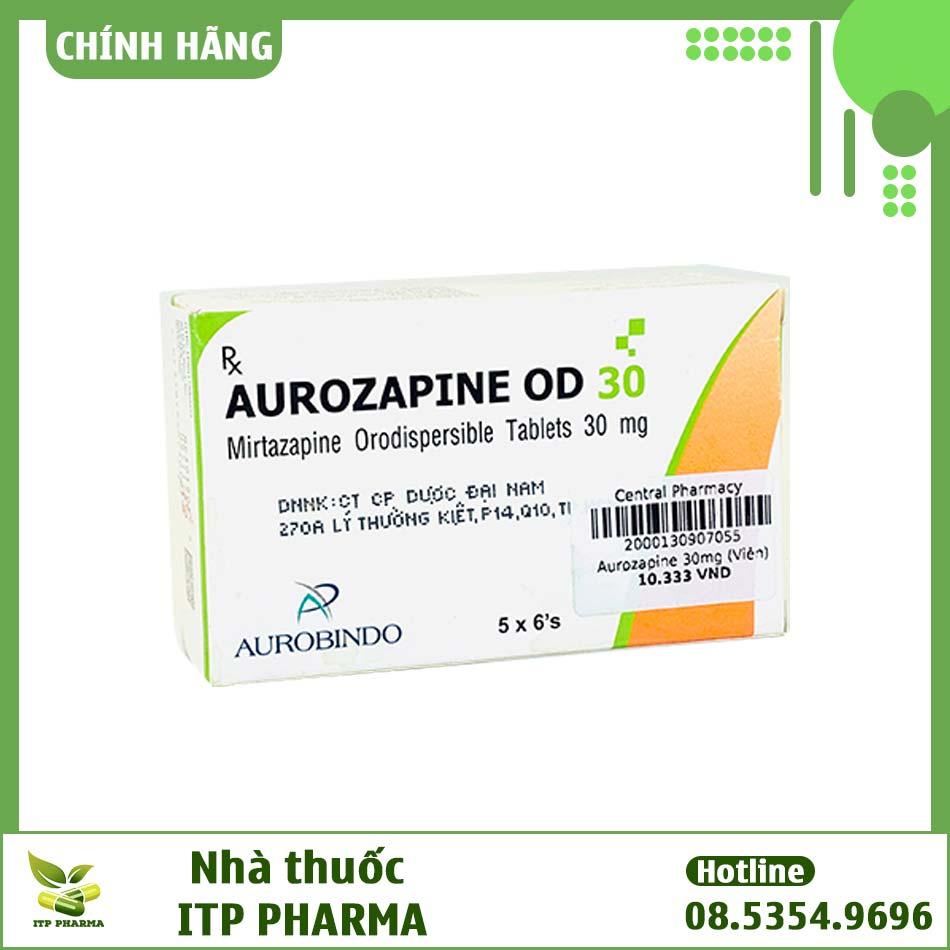 Thuốc Aurozapine 30mg bào chế dạng viên nén
