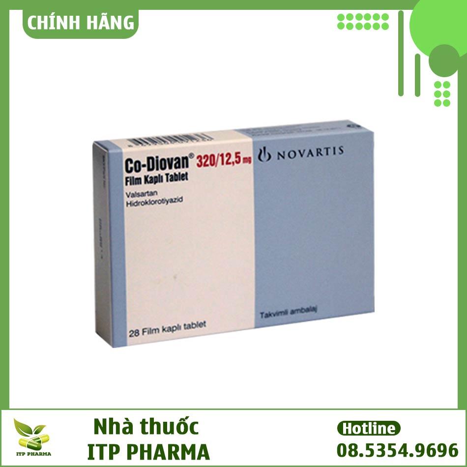 Co-Diovan hàm lượng 320mg