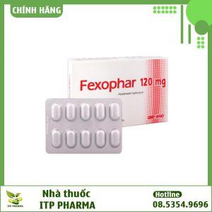 Dạng đóng gói thuốc Fexophar 120mg