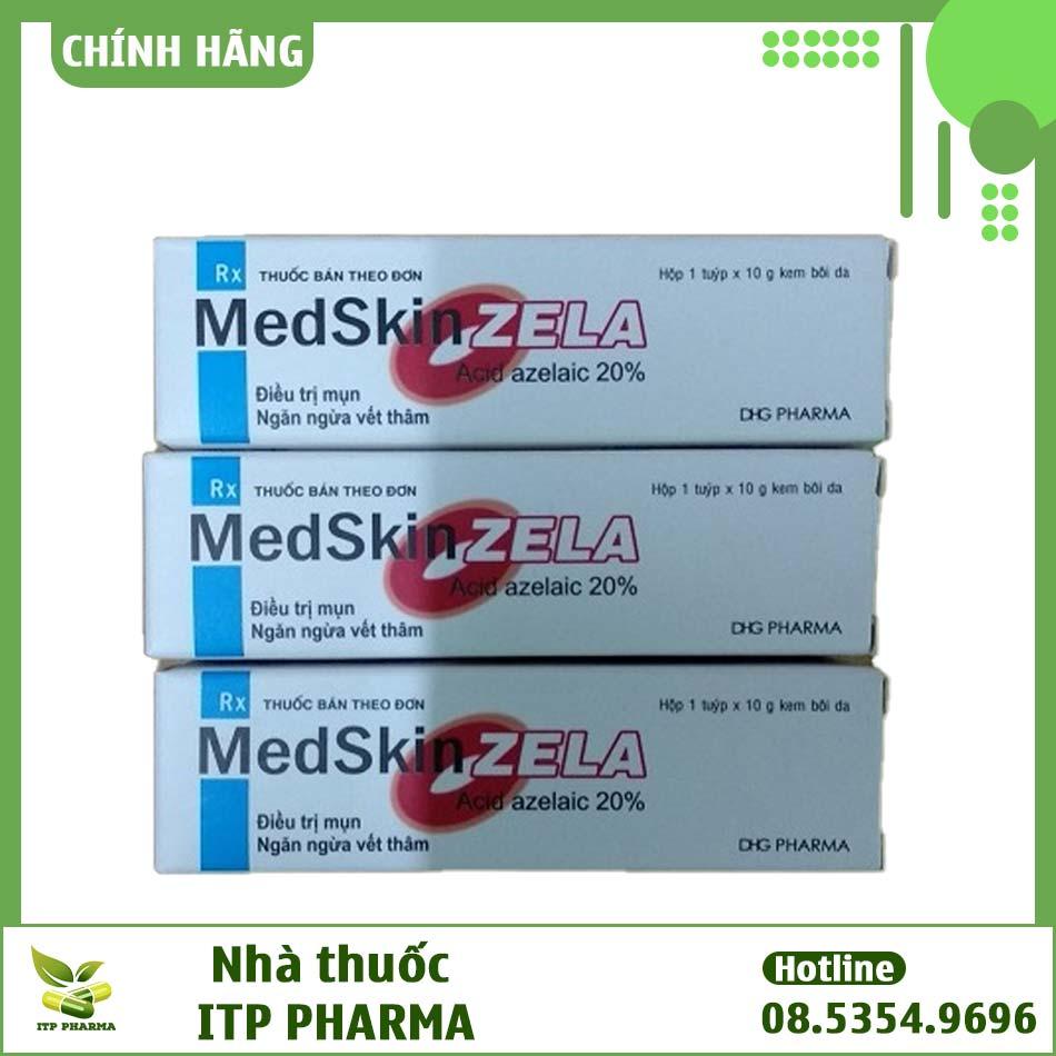 Hình ảnh hộp thuốc Medskin Zela