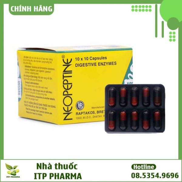 Thuốc Neopeptine dạng viên nang