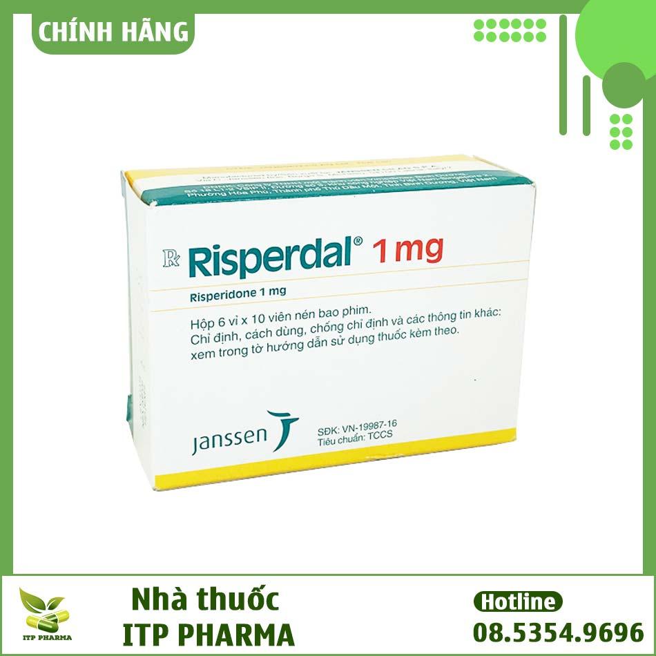 Thuốc Risperdal bào chế dưới dạng viên nén