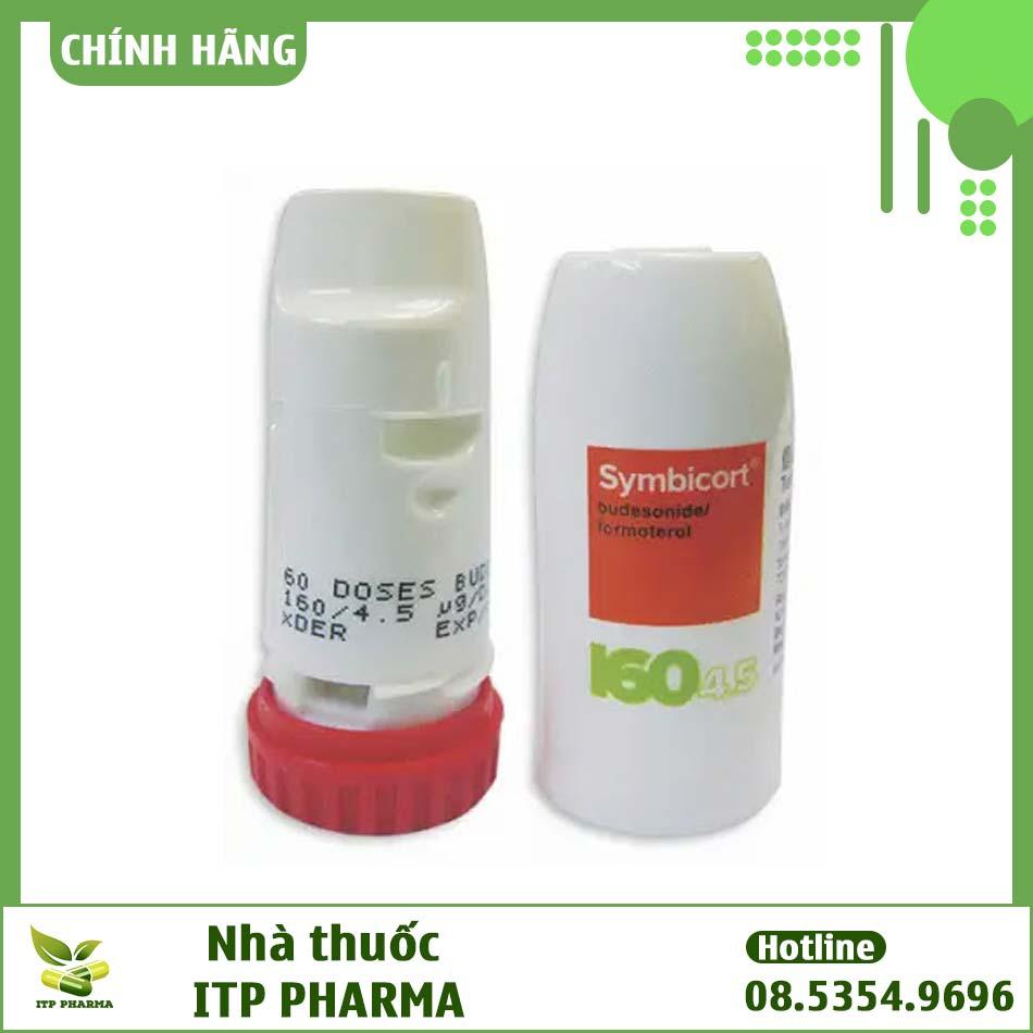 Thuốc Symbicort bào chế dạng ống hít định liều