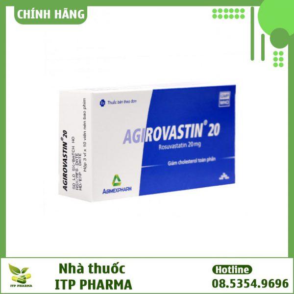 Agirovastin - Thuốc hạ mỡ máu