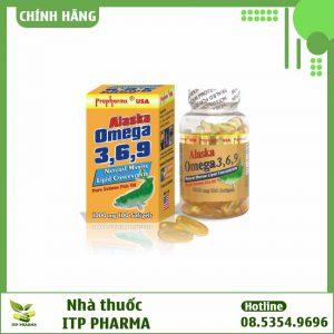 Alaska Omega 3-6-9 - hỗ trợ làm giảm nồng độ cholesterol và triglycerid có ở trong máu