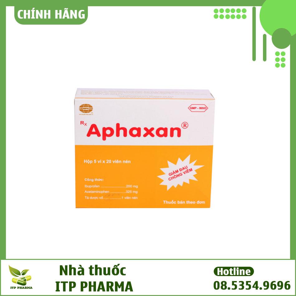 Hộp thuốc Aphaxan
