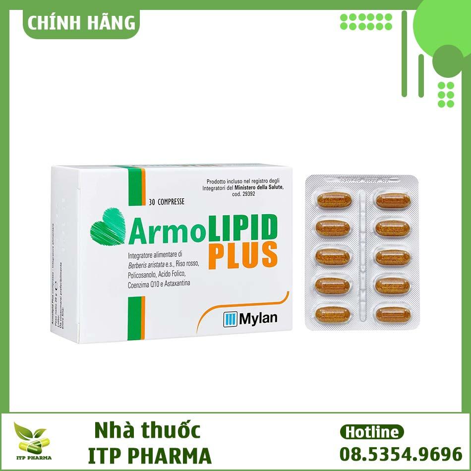 Hình ảnh vỉ sản phẩm Armolipid Plus