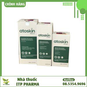 Sản phẩm Atoskin - giúp cải thiện tình trạng viêm da cơ địa