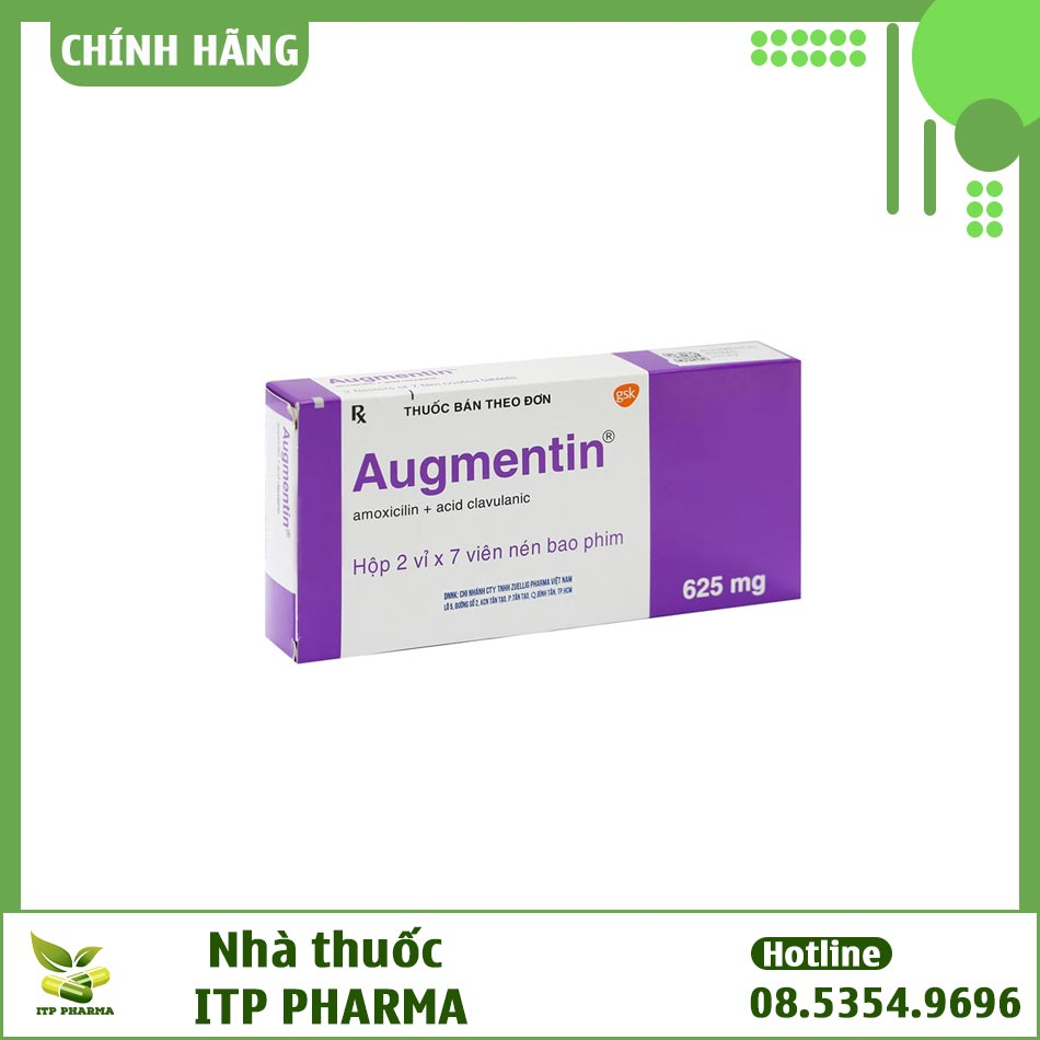 Hình ảnh hộp thuốc Augmetin