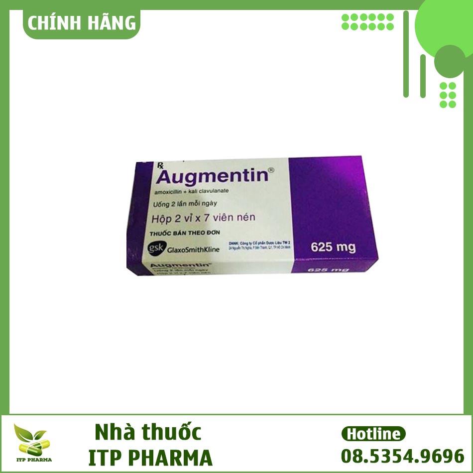 Thuốc Augmentin 625 mg giá bao nhiêu?