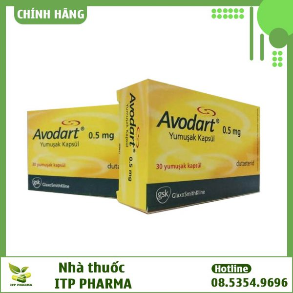 Hình ảnh hộp thuốc Avodart
