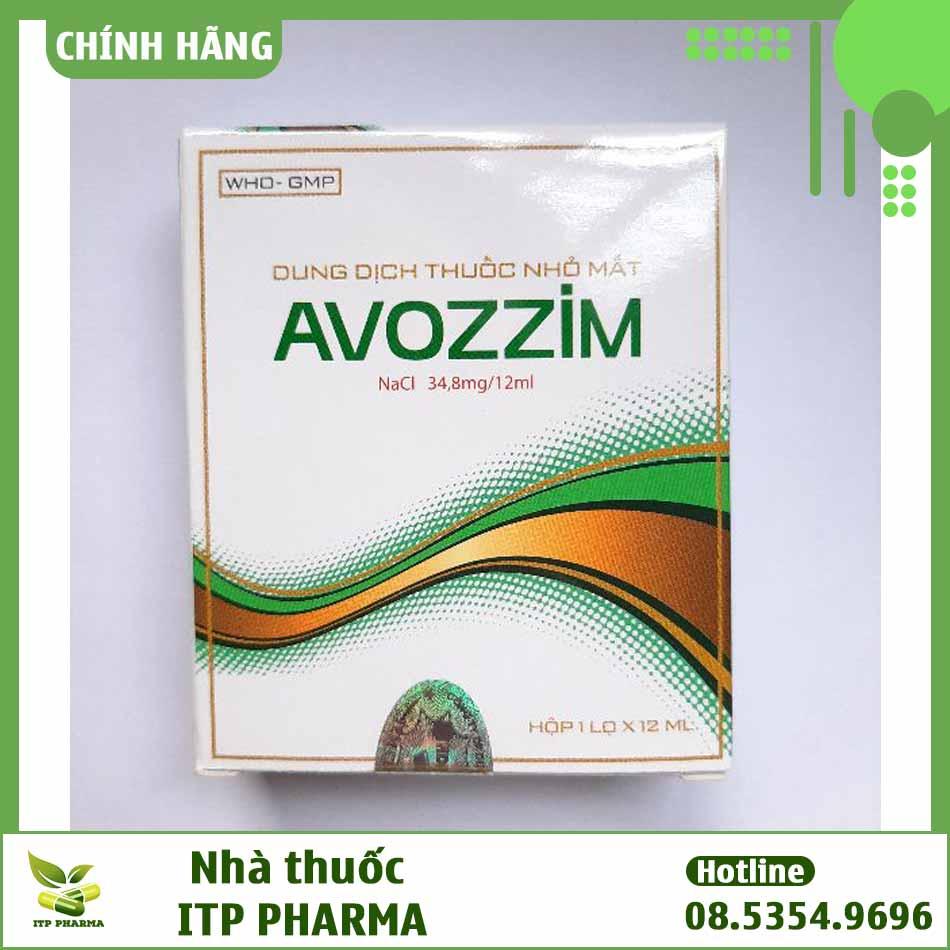 Thuốc nhỏ mắt Avozzim