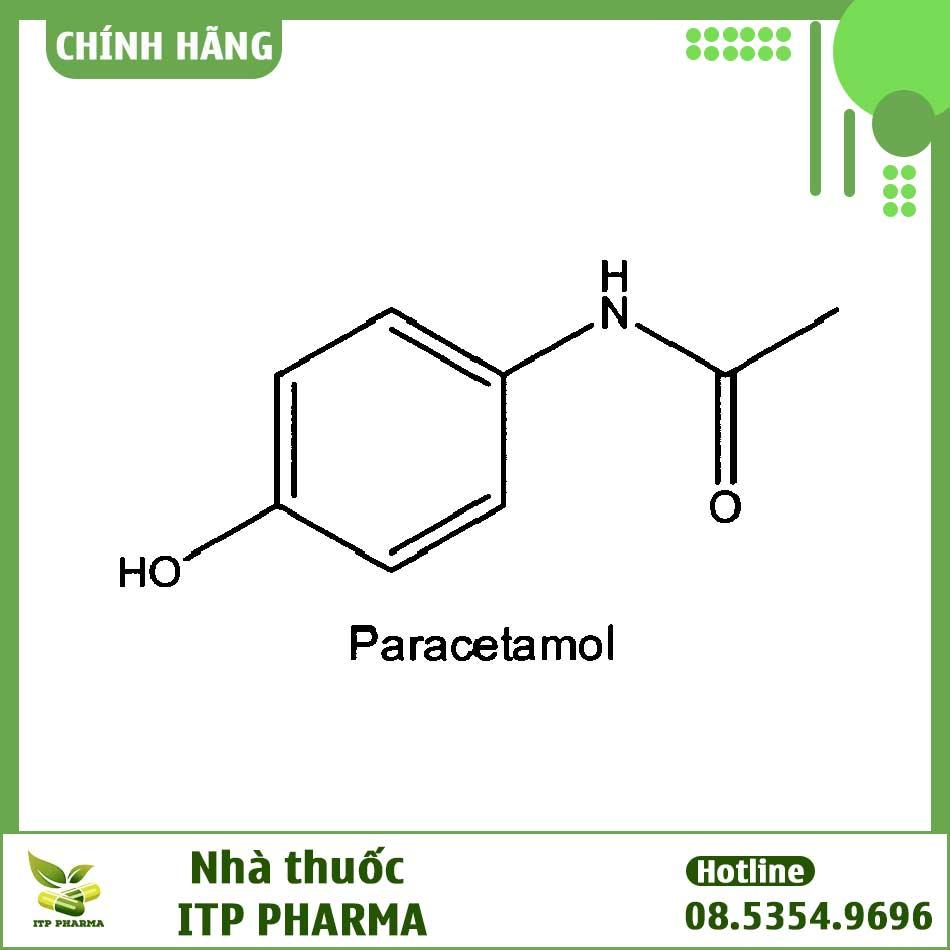 Thành phần Paracetamol của Caditamol F