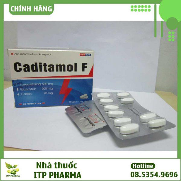 Hình ảnh thuốc Caditamol F