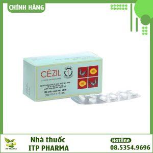 Thuốc chống dị ứng Cézil