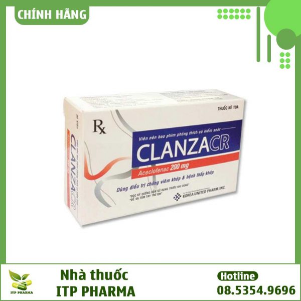 Thuốc ClanzaCR là thuốc gì?