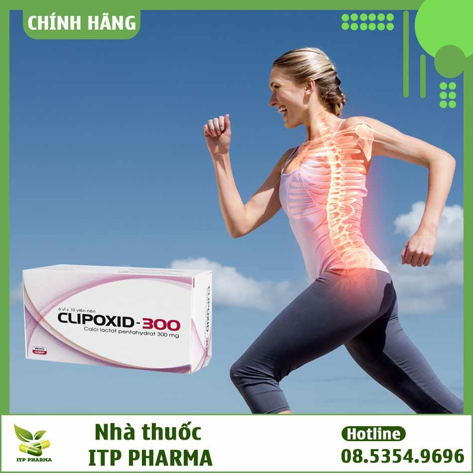 Clipoxid giúp cải thiện tình trạng loãng xương
