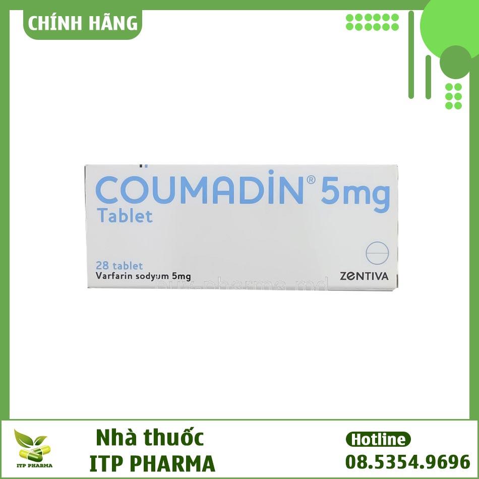 Hình ảnh hộp thuốc Coumadin