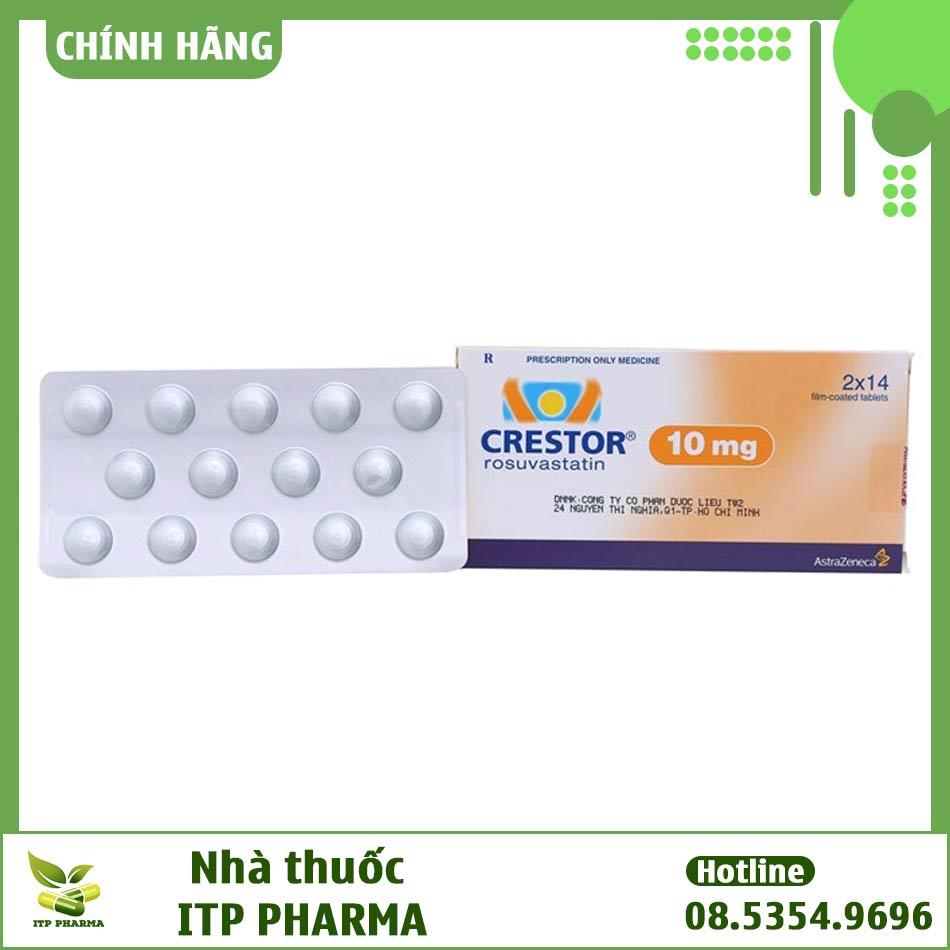 Thuốc Crestor - Điều trị tăng cholesterol máu và phòng ngừa các bệnh về tim mạch