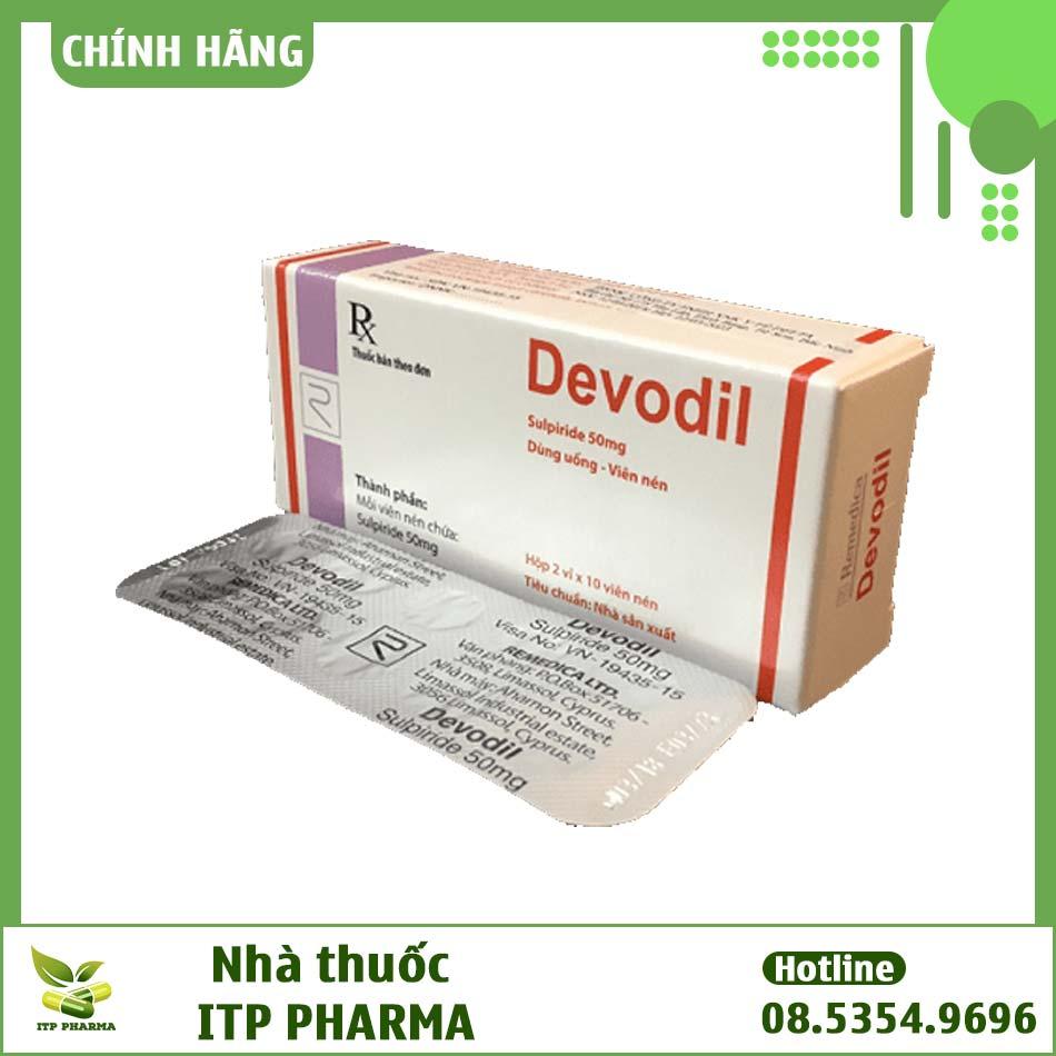 Tác dụng phụ của thuốc Devodil