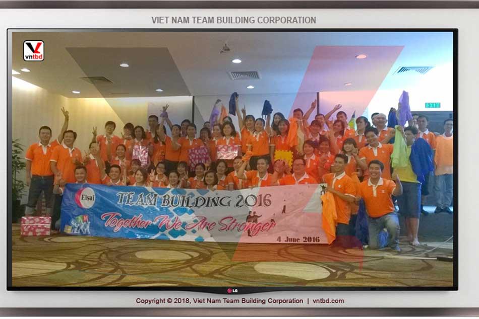 Hình ảnh chương trình Eisai được Việt Nam Team Building (VNTBD) tổ chức