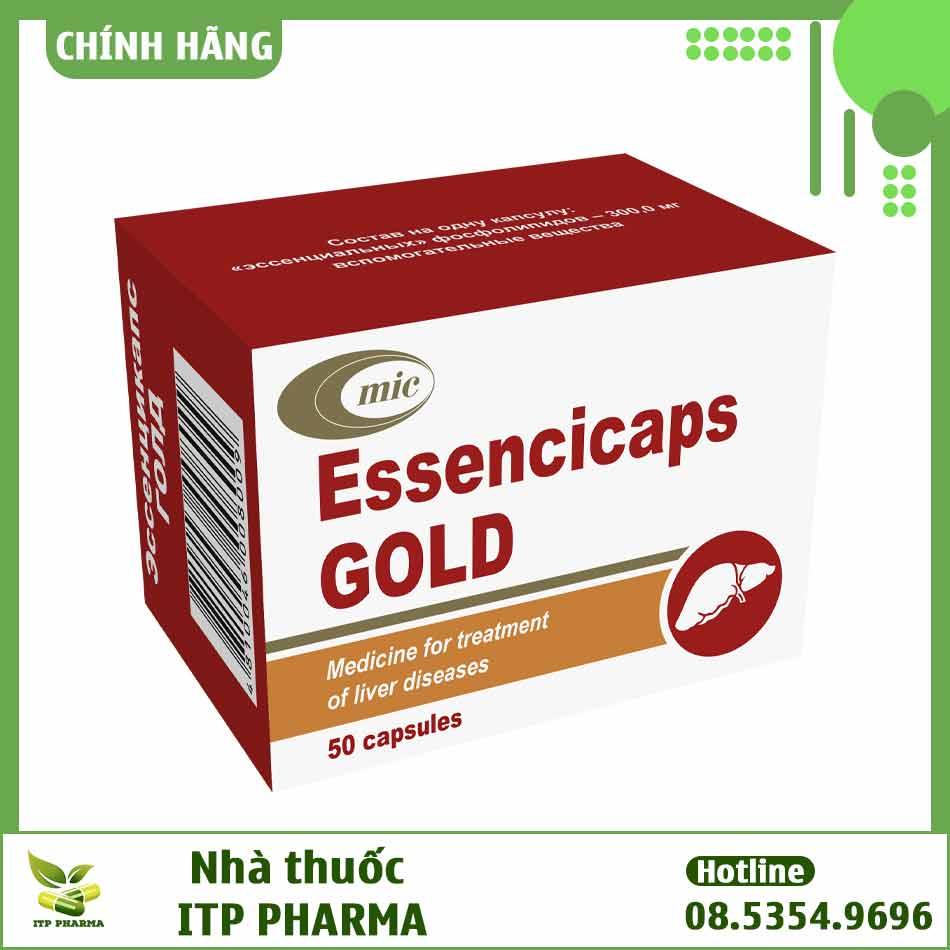 Hình ảnh thuốc Essencicaps Gold