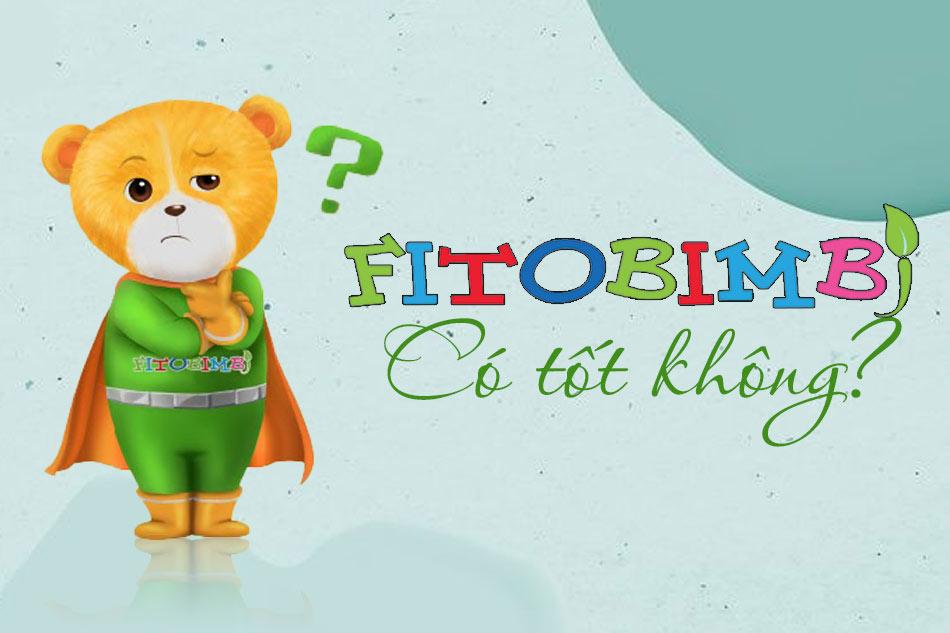Bộ sản phẩm Fitobibim có tốt không?