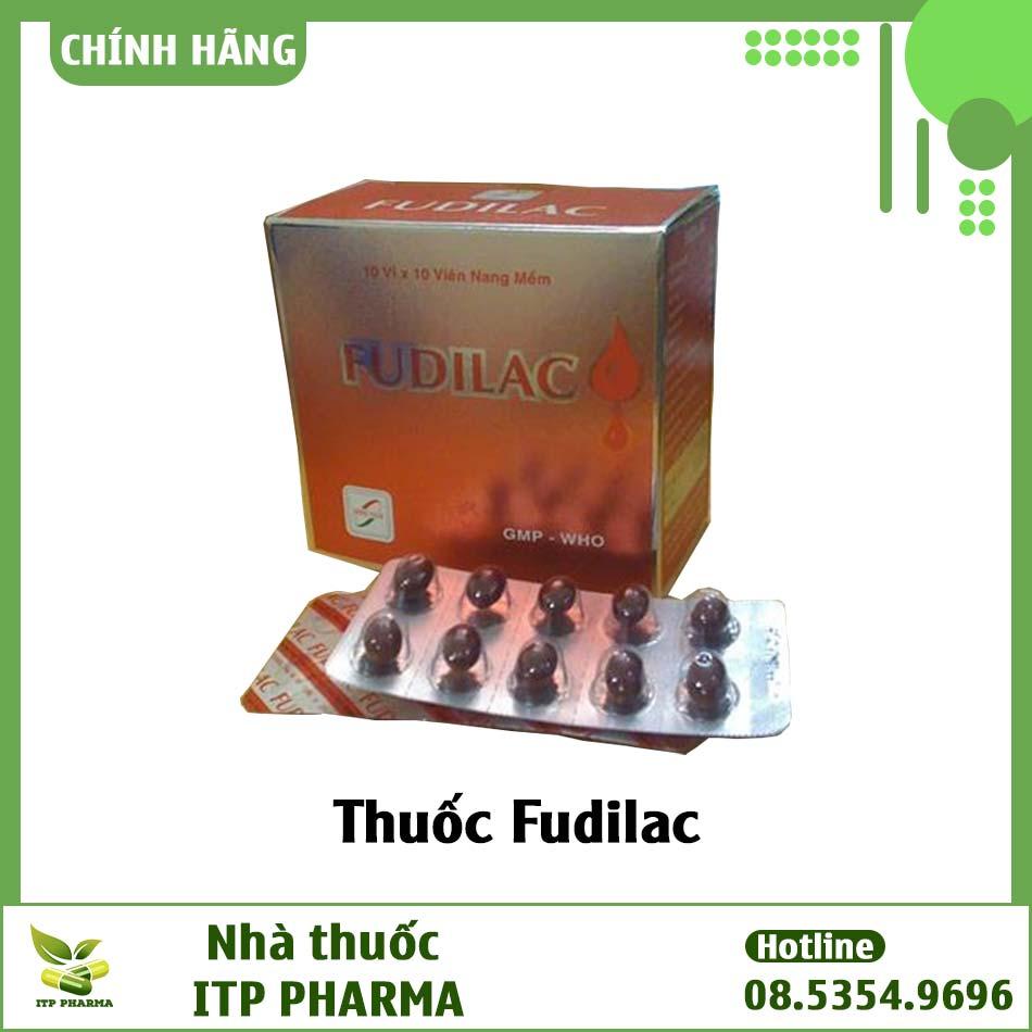 Hình ảnh thuốc Fudilac